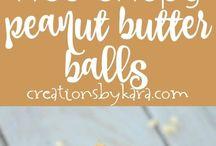 rice krispie peanut butter balls