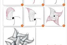 Zentangle muster