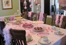 Birthday party ideas / by Misty Atkinson