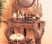 Beautiful mirrors and Antique Vanities