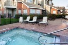 Pool / Pool with spa, arbor, and propane grill kitchen at The Trails