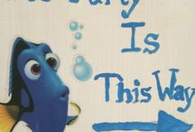 Dory 'Under the Sea' Party ideas