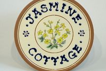 Lucienne's Floral Plaques and Plates