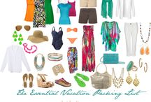 Packing For a Tropical Vacation  / Is it possible to pack less and get more?  I take these pieces and create 30 looks!  More than enough for your  getaway! / by Bridgette Raes