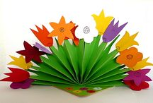 Blumen aus Papier