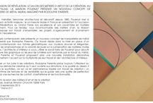 RODOLPHE PARENTE / REVELATIONS / A l'occasion de REVELATIONS, le salon des Métiers d'art et de la création, la Maison POUENAT présente un concept de marqueterie de métal mural imaginé par l'architecte-designer Rodolphe Parente. Septembre 2015 / www.rodolpheparente.com - www.pouenat.fr