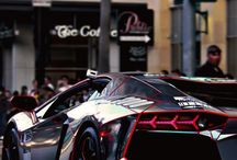 Hot Cars / Favorites: Audi, Cadillac, Lamborghini.