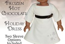 """AG Patterns I Have Collected / Clothes to fit an 18"""" doll  / by Judy Hart"""