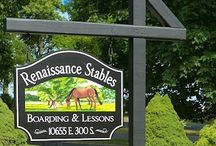 Horse Signs / Signs for horse farms or anything related to horses