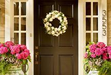 Beautiful entrances