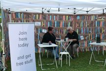 Books Unbound / Books Unbound is our pop-up eLibrary.  We take our library out in the community to provide a space to play and get help with using our range of eResources. Books Unbound, your anywhere, anytime library