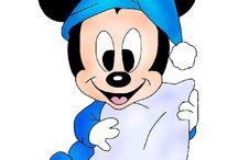 "Disney ""Topolino baby"""