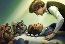 Star Wars Saga's....