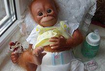 Обезьянки / Живые куклы