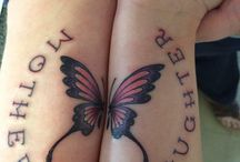 Mom daughter tattoos