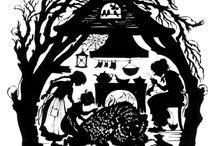 Sprookje: Sneeuwwit en Rozerood