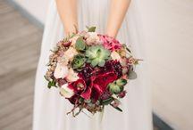 Brudebuketter og blomster