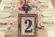Hessian Wedding Styling