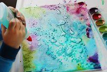 Teckningar/målningar