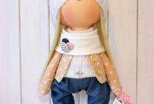 тканевая кукла