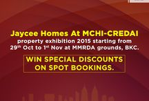 Jaycee Homes at MCHI / Jaycee Homes at MCHI-CREDAI property exhibition 2015 starting from 29th Oct to 1st Nov at MMRDA grounds, BKC.