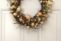 Easter wreaths / DIY Easter Wreaths for the front door