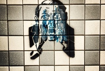 streetart / Streetart, Murals, Stencils, Graffiti, Sticker