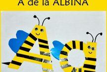 Litera A / Letter A / Invatam literele alfabetului. Litera A