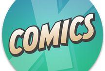 Comic Stars / Marvel / Dc / by Angel Jackets