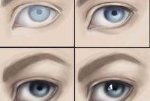 Poradniki rysowania oczu
