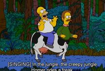 The simpsons TVs show