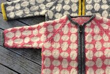 Børnetøj - strik og sy / Fra 1 år
