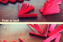 valentine day paper craft