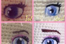 eyes for knitting dolls