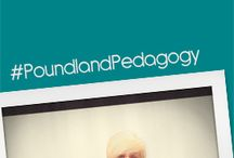 Poundland Pedagogy / The genius term created by Isabella Wallace #poundlandpedagogy, how Poundstores are an Alladin's cave to help the innovative teacher, and all at £1 each. / by Poundland