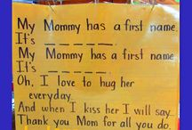 Mother's day for Kindergarten