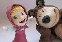maya y el  oso