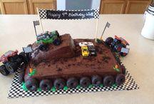 Geburtstag Monster Truck