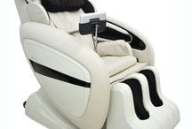 Electric Massage Chair Luxury Recliner Beauty Professional Back Pain Relaxing PU