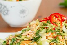 Asian / Thai chicken salad
