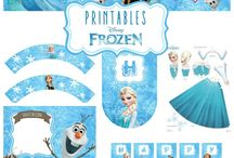 Frozen B-day Party