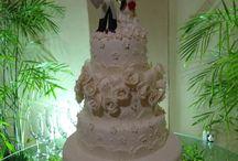 bolo de casamento/ meus