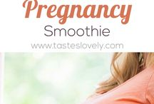Pregnancy smoothies