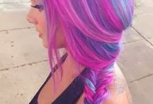 Coloured Hair / All of the weird and wonderful colours we find out and around!  #Colourful #Hair #Hairstyles #BeeverHair