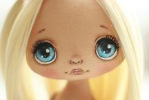КУКЛЫ. Лицо роспись. / Куклы. Роспись лица.