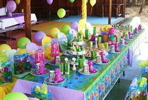2nd bday barney party