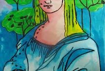 Art: Leonardo Da Vinci, Monet's, Van Gogh, ...