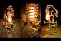 Videos Steampunk DIY Industrial Pipe Lamps