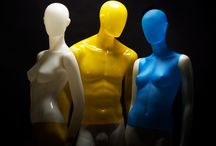 BULB / New generation of mannequins! They are truly unique, made from translucent fibreglass which allow the light to shine through.