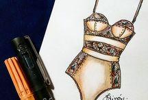 lenjerie desene